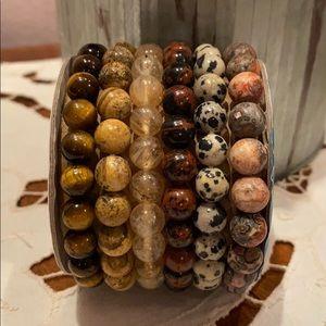6 Brand new, ready to wear Boho bracelets